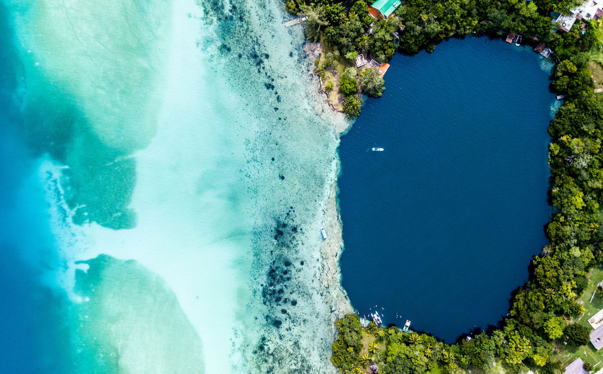 Lake Bacalar - The Sacred Lake of 7 Colours