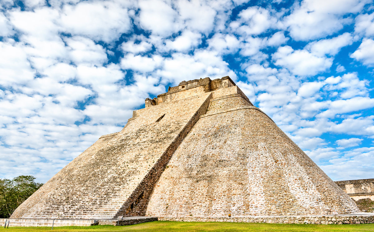 Uxmal - The Mother Pyramid